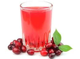 cranberry-juice-mixed-with-ginger-paste