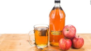 apple cider vinegar .